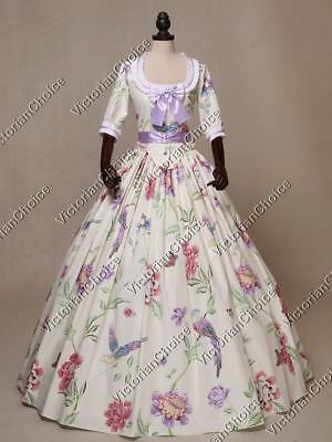 Victorian Southern Belle Fantasy Dress Princess Theater Halloween Costume N 393