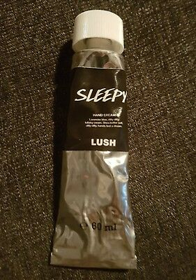 Lush Kitchen Sleepy Hand Cream 60ml - Used Once - Discontinued Fresh Product