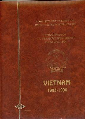 Viet Nam Imperf  Stamp Collection NH Deluxe Stockbook
