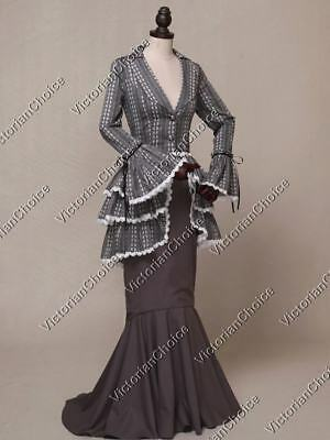 Victorian Choice Titanic Suit Dress Gown Theater Wear Steampunk Clothing 328