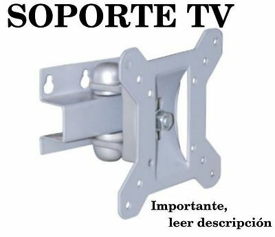 "SOPORTE GIRATORIO E INCLINABLE DE TV 10"" A 30"" para television plasma lcd led"