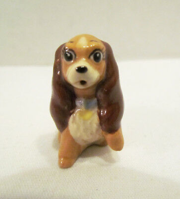 HAGEN RENAKER LADY FROM LADY AND THE TRAMP CERAMIC FIGURINE WALT DISNEY 1950's