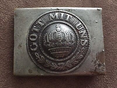 Imperial German Prussian Pre WWI Enlisted NCO Belt Buckle Possible Field Police