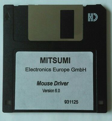 """MITSUMI Mouse Driver - 3.5"""" Floppy Disk / Diskette"""