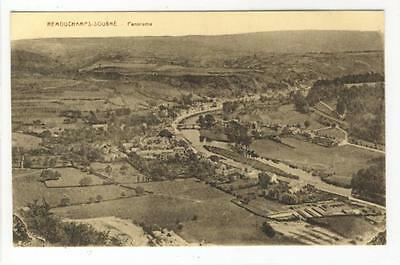 AK Sougne-Remouchamps, Panorama 1920