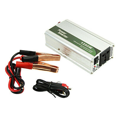 1200W DC 12V to AC 220V Car Inverter #Power Charger Converter for Electronic New