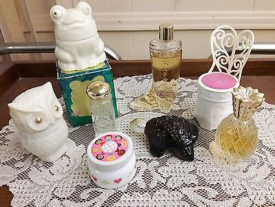 Lot of 8 vintage Avon sachet/cologne bottles