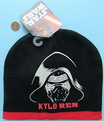 e1c31fac21dd6 KNIT CAP HAT Star Wars Disney KYLO REN Force Awakens NEW W  TAG beanie  stocking