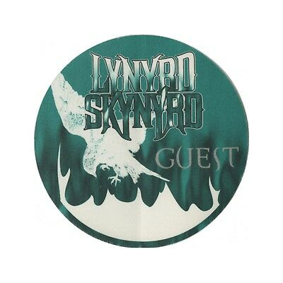 Lynyrd Skynyrd authentic Guest 1999 tour Backstage Pass