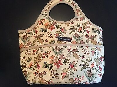 Longaberger Autumn Path Booking Tote Bag - New