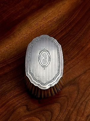 Gorham Co. American Sterling Silver Dresser Brush Beautifully Decorated