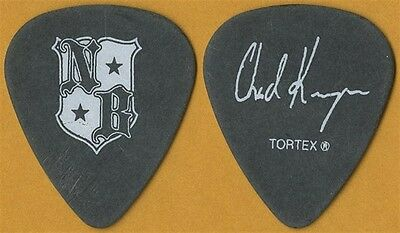 Nickelback Chad Kroeger 2006 All the Right Reasons tour band shield Guitar Pick