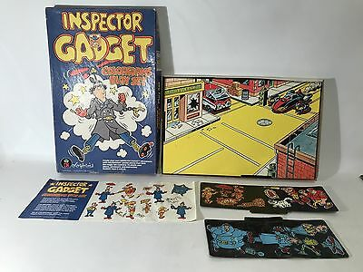 Vintage Inspector Gadget Colorforms Toy Playset 673 Penny Box 1983 Near Complete