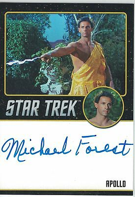 Star Trek TOS 50th Anniversary (2016) Michael Forest autograph