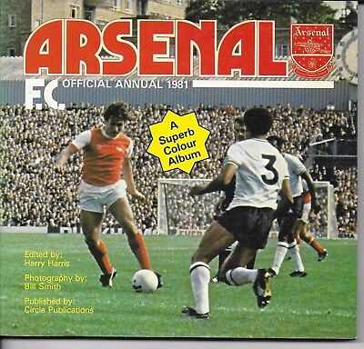 Arsenal Fc 1981 Official Annual