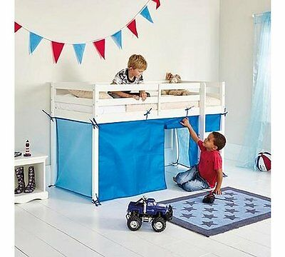 Chad Valley Blue Tent for Shorty Mid Sleeper Bed Frame NEW sealed