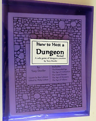 How to Host a Dungeon, Revised Edition, Planet Thirteen, Tony Dowler