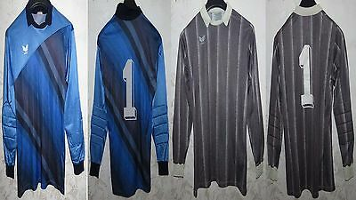 Due Two Jersey Shirt Calcio Football Portiere Goalkeeper Gk Germany D7/8 Erima