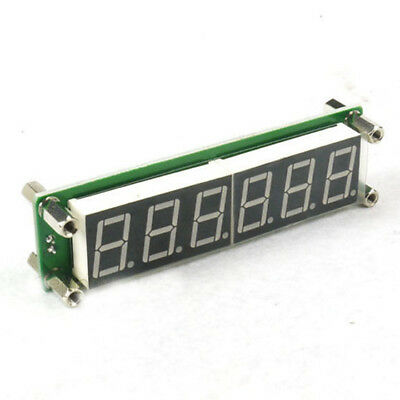 0.1 to 65 MHz RF 6 Digit Led Signal Frequency Cymometer Tester meter Green