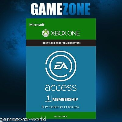 EA Access 1 Month Subscription - Xbox One - Key Origin Membership Xbox Live