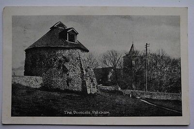 The Dovecote, Patcham. BW printed postcard