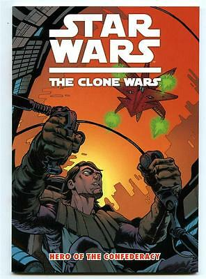 Star Wars Clone Wars Hero of the Confederacy Graphic Novel Titan Books NM-
