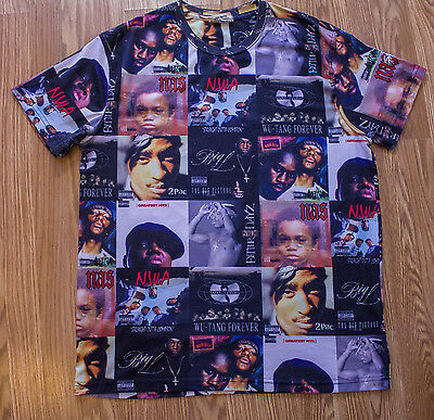 Rare Vintage Size XL Sex Money & Weed Greatest Rapppers/Albums T Shirt