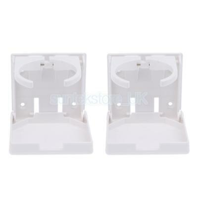 2pcs Nylon Foldable Drink Can Cup Holders for Marine Boat Yacht Caravan Car