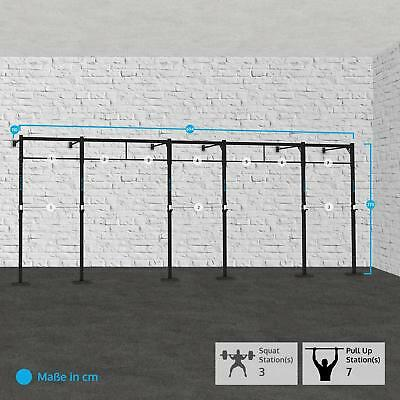Capital Sports Fitness 694X110Cm Training Kraft Aufbau Squat Rack Klimmzugstange