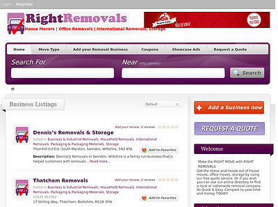 RightRemovals.co.uk - Catchy Domain Name for House Removal Business