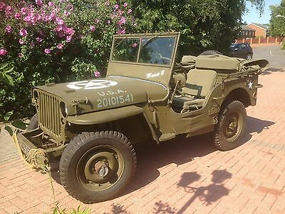 NOW SOLD ** FORD GPW, 1942 script jeep, willys jeep, ww2 jeep, mb ** NOW SOLD **