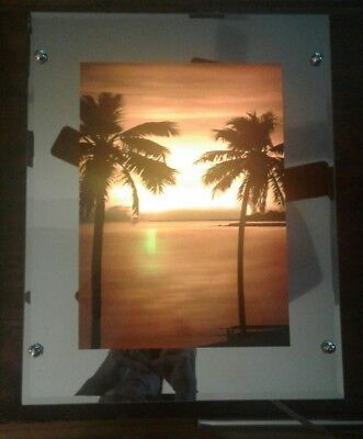 Vintage Ocean Sound and Moving Picture Light / Mirror