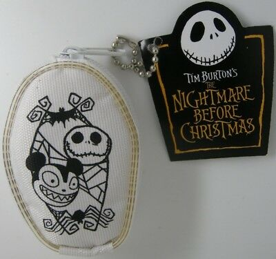 Nightmare Before Christmas Vampire Teddy Mini Zip Up Pouch Coin Purse figure toy