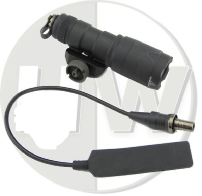Airsoft Emerson Tomtac M300 Scout Weapon Light Torch Cree Led Black Pressure Pad