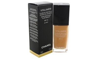 Chanel Vitalumiere Satin Smoothing Fluid Makeup Spf15 60 Hale