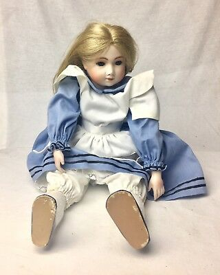 RARE OOAK Doll Porcelain Michael Hatch | Alice in Wonderland Hand Made