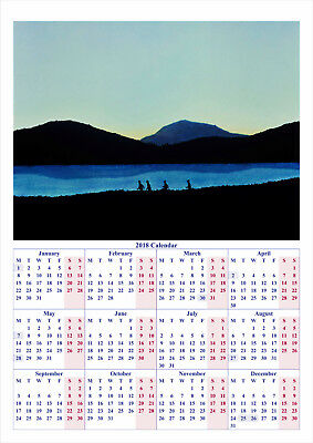 Stand By Me - 2018 A2 POSTER CALENDAR ***LATEST BUY 1 GET 1 FREE OFFER***
