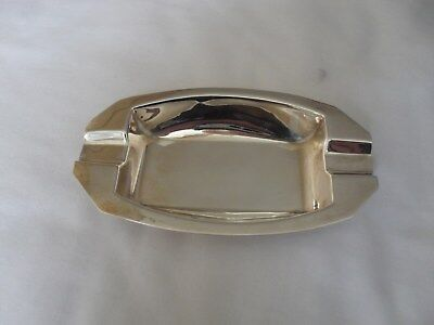 Vintage solid silver ash tray by Walker & Hall hallmarked Birmingham 1959