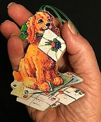 Cocker Spaniel Ornament Christmas Handcrafted Veterinarian Dog Lover Gift Cards