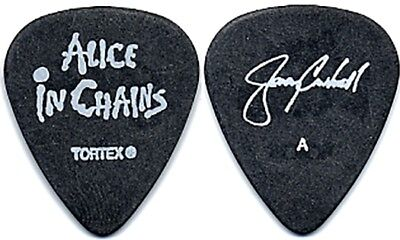 Alice in Chains Jerry Cantrell 2006 tour signature band Acoustic Guitar Pick AIC