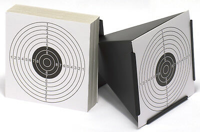 Funnel Design Air Rifle/Pellet/Airsoft Shooting Target Holder + 100 Cards Target