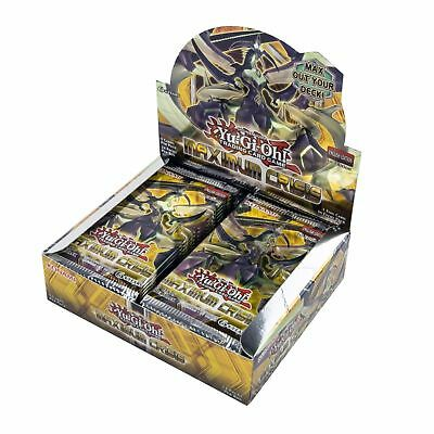 YuGiOh! Maximum Crisis Complete Sealed Booster Box - 24 Packs