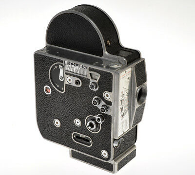 Bolex H16 M4 M-4 movie camera 16mm body flat base body not complete sold as is