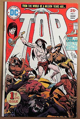 Tor #1 Dc 06/75 1975 - Vg/fn - 1St Dc Issue Of Tor The Caveman - Bronze Age