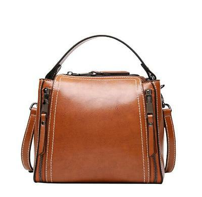 Fashion Women Bag Cowhide Genuine Leather Handbag one Shoulder Bags &0906