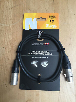 Stagg cable NMC1R mic cable XLR-XLR