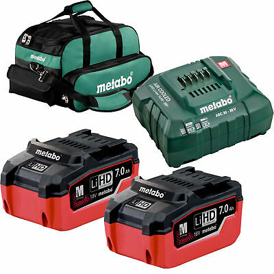 Metabo US625345002 LiHd Ultra-M Pro Cordless Starter Kit w/ 2x 7ah + Charger New