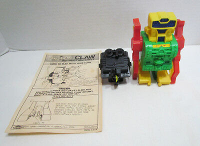 TOPPER TOYS DING A LING LINGS CLAW ROBOT W/ POWER PACK & INSTRUCTIONS c. 1970