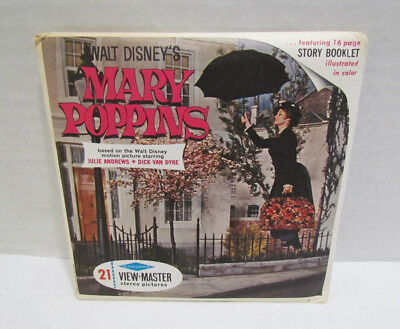 View-Master Packet B 376 Walt Disney's Mary Poppins Vintage Viewmaster Set