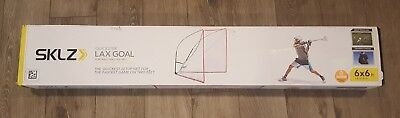 SKLZ Quickster Lacrosse Goal with Portable Practice Net -NEW, OPEN BOX